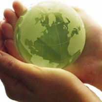 Globe in Hands Contact Us