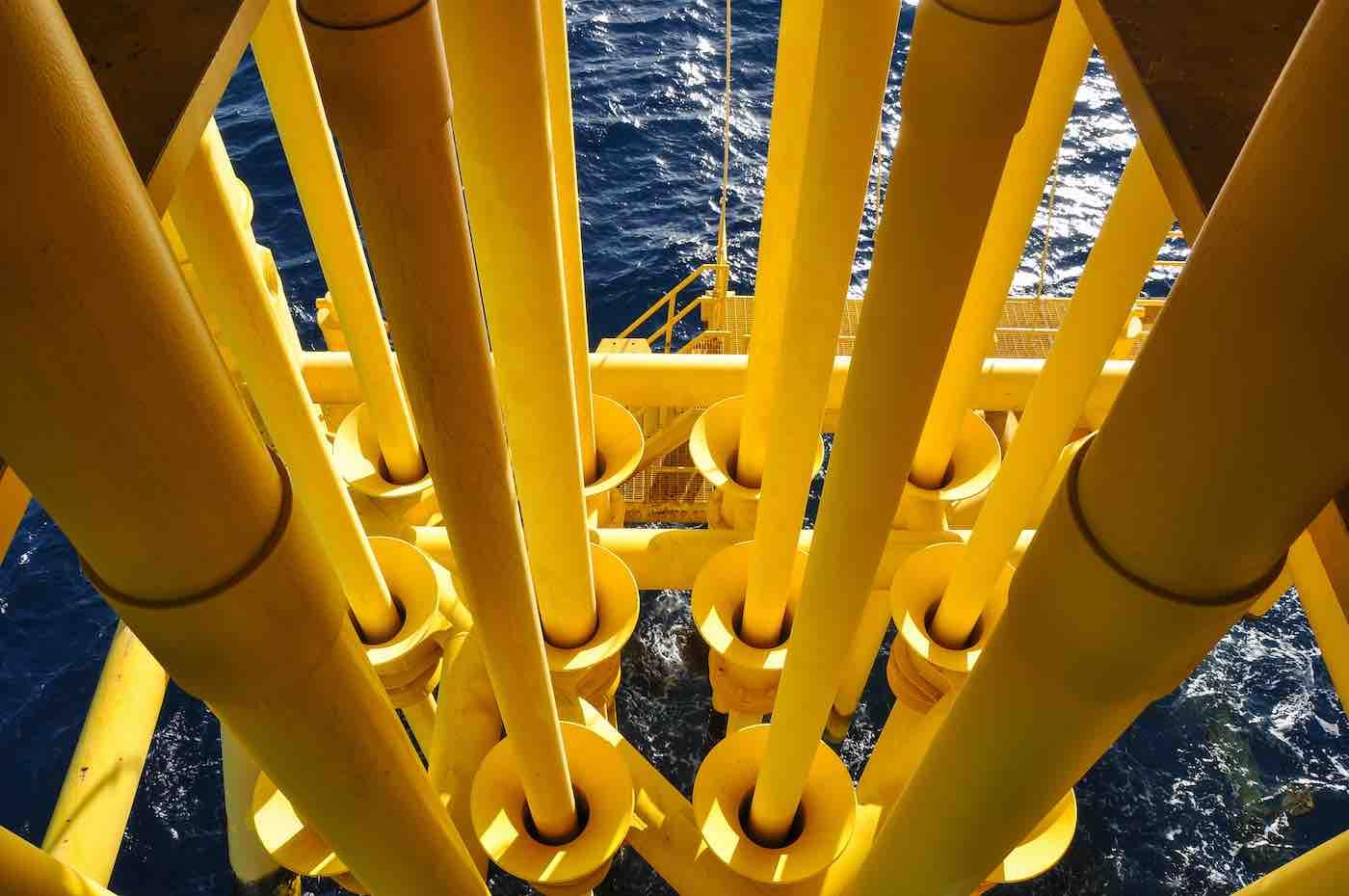 Oil rig ocean CIC Coatings